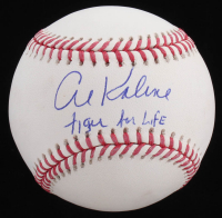 """Al Kaline Signed OML Baseball Inscribed """"Tiger For Life"""" (JSA COA) at PristineAuction.com"""