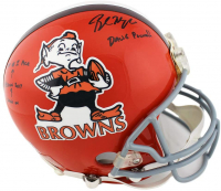 Baker Mayfield Signed Browns Full-Size Authentic On-Field Helmet with Multiple Inscriptions (Beckett Hologram) at PristineAuction.com