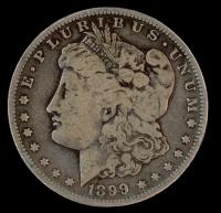 1899-O Morgan Silver Dollar at PristineAuction.com