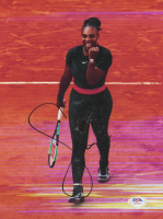 Serena Williams Signed 8.5x11 Photo (PSA COA) at PristineAuction.com