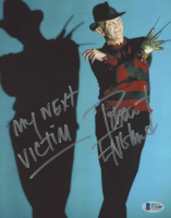 """Robert Englund Signed """"A Nightmare on Elm Street"""" 8x10 Photo Inscribed """"My Next Victim"""" (Beckett COA) at PristineAuction.com"""