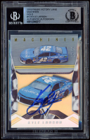 Kyle Larson Signed 2019 Panini Victory Lane Machines Gold #13 (BGS Encapsulated) at PristineAuction.com