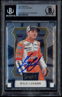 Kyle Larson Signed 2017 Select #97 (BGS Encapsulated) at PristineAuction.com
