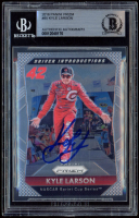 Kyle Larson Signed 2016 Panini Prizm #85 (BGS Encapsulated) at PristineAuction.com