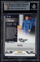 Kyle Larson Signed 2019 Panini Victory Lane Top 10 #9 (BGS Encapsulated) at PristineAuction.com