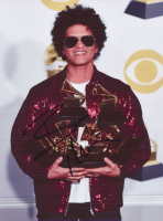 Bruno Mars Signed 8.5x11 Photo (PSA COA) at PristineAuction.com