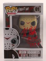 "Kane Hodder Signed ""Friday the 13th"" #01 Jason Voorhees Funko Pop! Vinyl Figure Inscribed ""Jason 7, 8, 9, X"" (JSA COA) at PristineAuction.com"