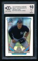 Aaron Judge 2014 Bowman Chrome Draft Prospects Refractors #CTP39 (BCCG 10) at PristineAuction.com