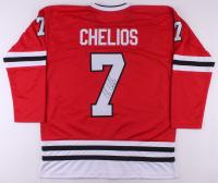 Chris Chelios Signed Jersey (JSA Hologram) at PristineAuction.com