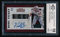 Nick Bosa 2019 Panini Contenders Draft Picks Bowl Ticket Autographs Silver Prizm #150 (BCCG 10) at PristineAuction.com