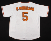 "Brooks Robinson Signed Orioles Jersey Inscribed ""HOF 1983"" (JSA COA) at PristineAuction.com"