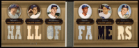Mickey Mantle / Joe DiMaggio / Ted Williams / Ernie Banks / Yogi Berra / Stan Musial 2007 Topps Triple Threads Relics Combos Double Sepia #15 at PristineAuction.com