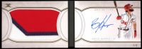 Bryce Harper 2018 Topps Definitive Collection Autograph Patch Booklet #DAPBBH at PristineAuction.com