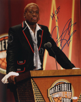 "Dennis Rodman Signed Bulls 16x20 Photo Inscribed ""HOF 11"" (JSA COA) at PristineAuction.com"