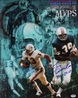 "Larry Csonka & Jake Scott Signed Dolphins Super Bowl MVPs 16x20 Photo Inscribed ""72-17-0"" & ""MVP VII"" (PSA COA) at PristineAuction.com"