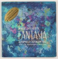 "Walt Disney's ""Fantasia"" Vinyl Record LP Book at PristineAuction.com"