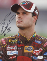 David Gilliland Signed NASCAR 8x10 Photo (JSA SOA) at PristineAuction.com