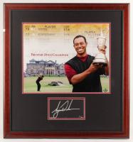 Tiger Woods Signed LE 29x31 Custom Framed Cut Display (UDA COA) at PristineAuction.com