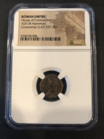 Constantius II - Roman Bronze Coin AD 337-361 (NGC Encapsulated) at PristineAuction.com