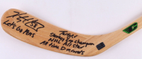 Kris Letang Signed 4500 Ultralight Canadian Hockey Stick With Multiple Inscriptions (Letang COA) at PristineAuction.com
