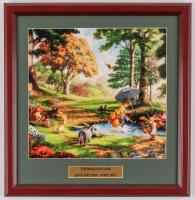 "Thomas Kinkade Walt Disney's ""Winnie-the-Pooh"" 15.5x16 Custom Framed Print Display at PristineAuction.com"