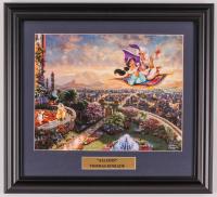 "Thomas Kinkade Walt Disney's ""Aladdin"" 15x16.5 Custom Framed Print Display at PristineAuction.com"