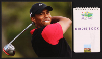 Lot of (2) Tiger Woods Items with Signed Golf Club St. Leon-Rot Course Book & 8x10 Photo (JSA LOA) at PristineAuction.com