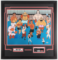 "Mike Tyson Signed ""Punch-Out!!"" 25.5x26.5 Custom Framed Photo Display (Fiterman Hologram) at PristineAuction.com"