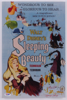 """Mary Costa Signed """"Sleeping Beauty"""" 10x15 Poster On Board Inscribed """"Sleeping Beauty"""" (PSA COA) at PristineAuction.com"""