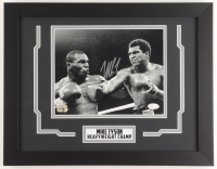 Mike Tyson Signed 14x18 Custom Framed Photo Display (JSA COA & Fiterman Hologram) at PristineAuction.com