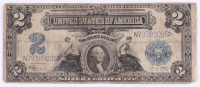 1899 $2 Two-Dollar U.S. Silver Certificate Large-Size Bank Note at PristineAuction.com