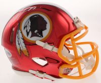 Dwayne Haskins Signed Redskins Chrome Speed Mini-Helmet (Beckett COA) at PristineAuction.com
