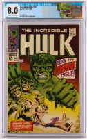 "1968 ""The Incredible Hulk"" Issue #102 Marvel Comic Book (CGC 8.0) at PristineAuction.com"