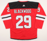Mackenzie Blackwood Signed Devils Jersey (JSA COA) at PristineAuction.com