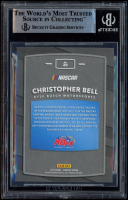 Christopher Bell Signed 2018 Donruss #29 Rated Rookie (BGS Encapsulated) at PristineAuction.com