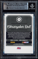 Christopher Bell Signed 2017 Donruss #83 (BGS Encapsulated) at PristineAuction.com