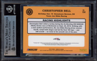 Christopher Bell Signed 2020 Donruss #164 Retro (BGS Encapsulated) at PristineAuction.com