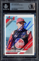 Christopher Bell Signed 2020 Donruss #56 (BGS Encapsulated) at PristineAuction.com