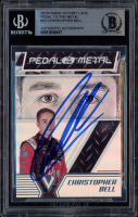 Christopher Bell Signed 2019 Panini Victory Lane Pedal to the Metal #23 (BGS Encapsulated) at PristineAuction.com