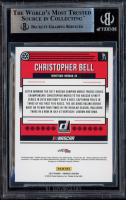 Christopher Bell Signed 2019 Donruss #71 (BGS Encapsulated) at PristineAuction.com