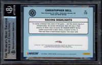 Christopher Bell Signed 2019 Donruss Silver #139 Retro (BGS Encapsulated) at PristineAuction.com