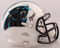 D. J. Moore Signed Panthers Matte White Speed Mini Helmet (JSA COA) at PristineAuction.com
