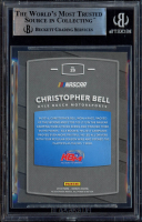 Christopher Bell Signed 2018 Donruss Green Foil #29 Rated Rookie (BGS Encapsulated) at PristineAuction.com