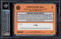 Christopher Bell Signed 2020 Donruss Optic Holo #84 Retro (BGS Encapsulated) at PristineAuction.com