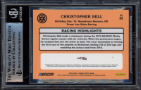 Christopher Bell Signed 2020 Donruss Optic #84 (BGS Encapsulated) at PristineAuction.com