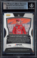 Christopher Bell Signed 2018 Panini Prizm Prizms #39 RC (BGS Encapsulated) at PristineAuction.com