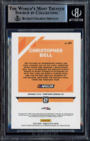 Christopher Bell Signed 2020 Donruss Optic #50 (BGS Encapsulated) at PristineAuction.com