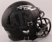 "Johnny Manziel Signed Texas A&M Aggies Matte Black Speed Mini Helmet Inscribed ""'12 Heisman"" (JSA COA) at PristineAuction.com"