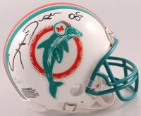 "Mark ""Super"" Duper Signed Dolphins Mini Helmet (JSA COA) at PristineAuction.com"