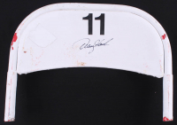 Denny Hamlin Signed Original #11 Daytona International Speedway Seat Back (Fanatics COA & PA COA) at PristineAuction.com